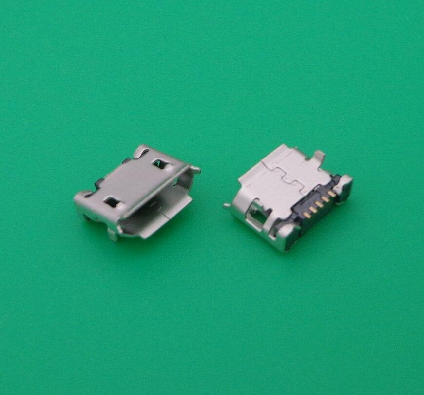 For Alcatel  OT 810 990 4010 4012 5035 6033 6030 OT4010 Vodafone 875 V875 Micro Usb Charging Connector Plug Dock Socket Port