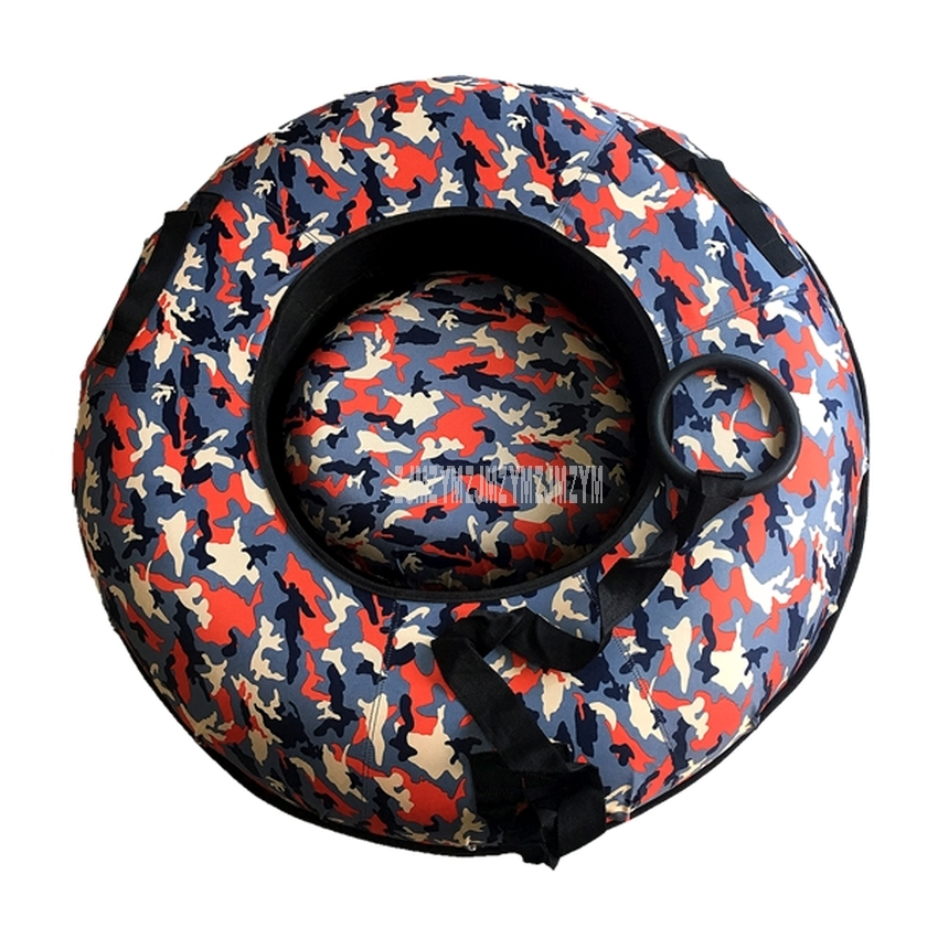 90cm Adult Skiing Ring Rubber Winter Inflatable Inner Tyre Ski Circle For Adult Outdoor Snow Skiing Pad Board Winter Sports Tool