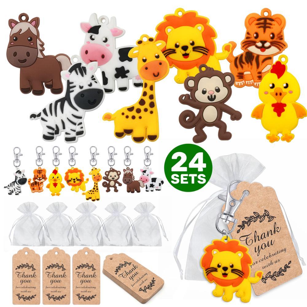 Animal keychain,gift,shower,birthday,baptism
