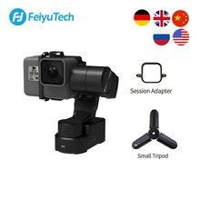 FeiyuTech Feiyu WG2X يمكن ارتداؤها Gimbal ترايبود 3 محور استقرار ل GoPro بطل 8 7 6 5 4 سوني RX0 يي 4K عمل كاميرا سبلاش واقية