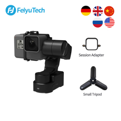 FeiyuTech Feiyu WG2X Wearable Gimbal Tripod 3-axis Stabilizer for GoPro Hero 8 7 6 5 4 Sony RX0 YI 4K Action Camera Splash-proof