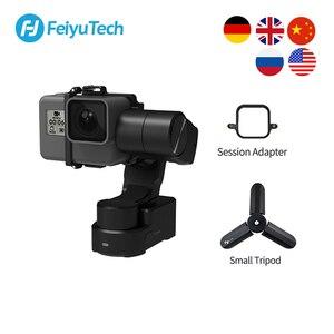 Image 1 - FeiyuTech Feiyu WG2X giyilebilir Gimbal Tripod 3 eksenli sabitleyici GoPro Hero 8 7 6 5 4 Sony RX0 YI 4K eylem kamera sıçrama geçirmez