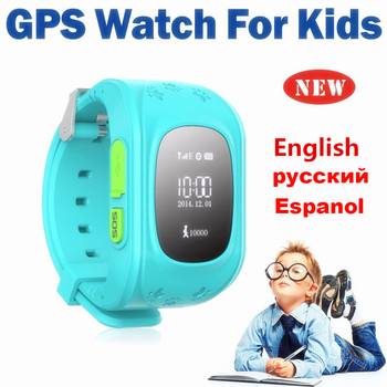 цена на Q50 GPS smart Kids children's watch SOS call location finder child locator tracker anti-lost monitor baby watch IOS & Android