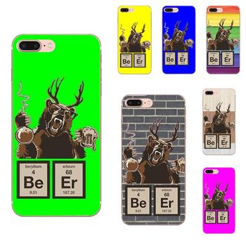 Chemistry Bear Discovered Beer For LG G7 ThinQ G5 G6 K50 Q60 K40 K8 Q7 2018 2017 V40 V30 V20 V10 Special Offer Luxury Phone Case image