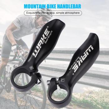 WAKE 1 Pair Bar New Bike Bicycle Aluminum Barend Bar MTB Bar End Mountain Bike Handlebar Cover Handle Cycling Accessories image