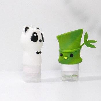 Botella de muestra vacía de cosméticos Hewang, conjunto de Sub-embotellado de silicona para viajes, botella de almacenamiento diaria al por mayor