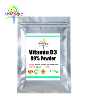 100g-1000g high quality 99% vitamin D3 (cholesterol) powder, promote growth and bone calcification, promote tooth health, food g