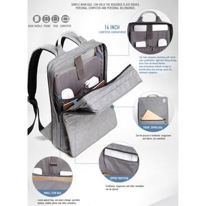 Image 4 - CAI sac à dos étanche grande capacité pour hommes et femmes, sac à dos pour école, Business, voyage, mode sac à dos pour ordinateur portable