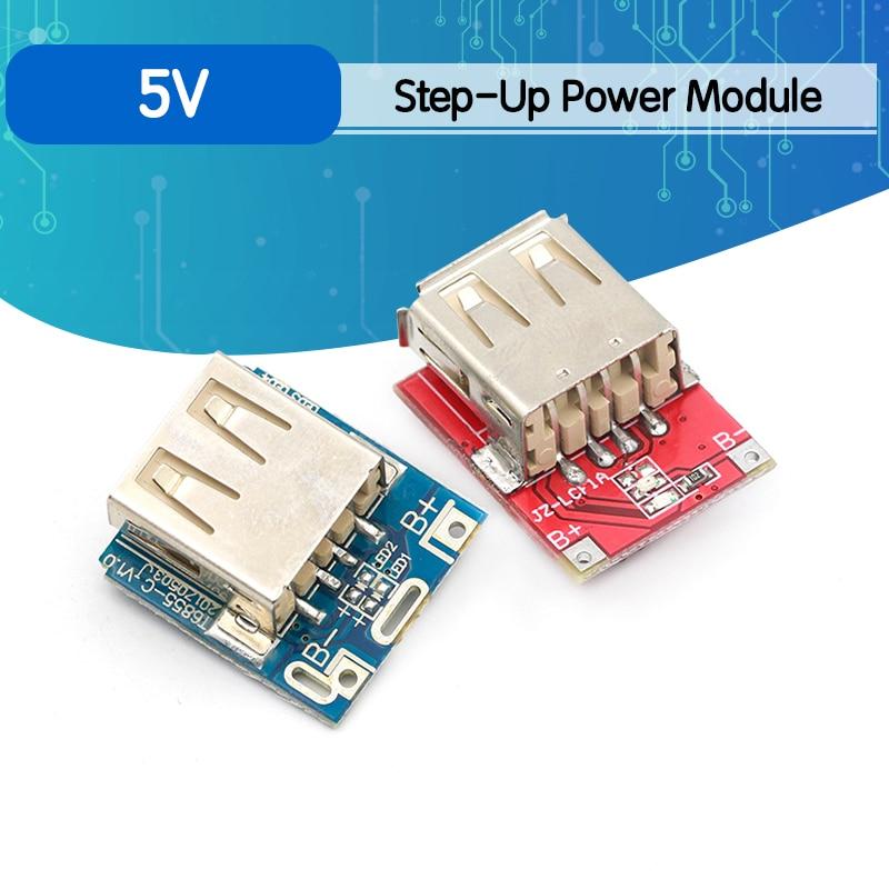 Миниатюрное зарядное устройство 5 в 1 А, печатная плата, Повышающий Модуль питания для зарядки, 1S/2S чехол, корпус, 18650 литиевая батарея, компле...