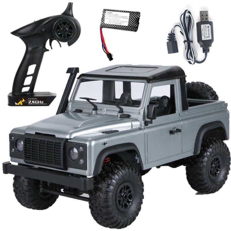 RC voitures MN 99S-A 1:12 4WD 2.4G radiocommande RC voitures jouets RTR chenille tout-terrain véhicule modèle pick-up