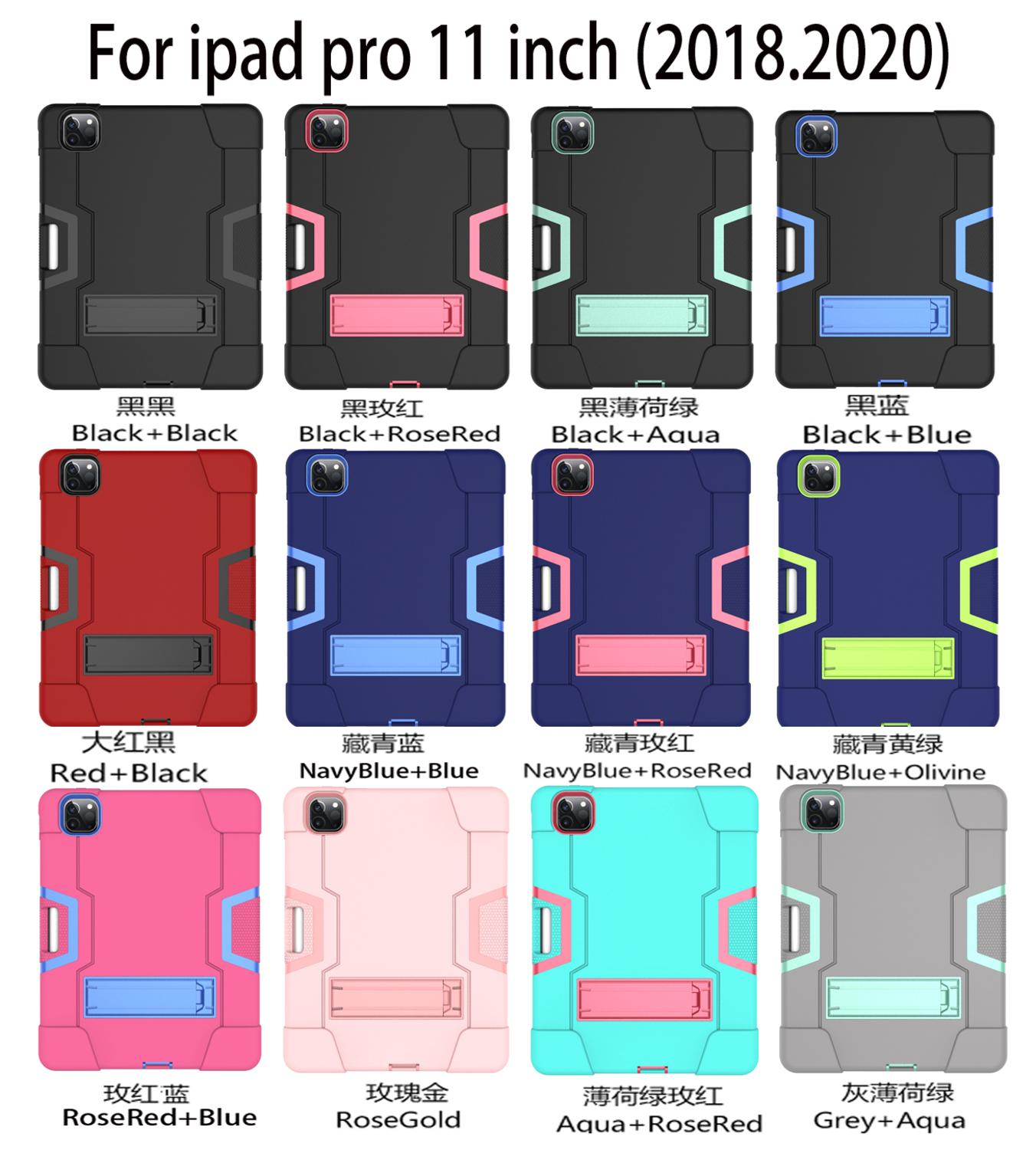 Anti Fall Cover for iPad Pro 11 Case for Apple iPad Pro 11 2018 2020 2nd