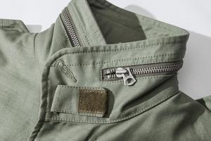 Image 3 - A. c. e. Exército dos eua 1966 m65 replica campo trench coat camuflagem jaqueta militar inverno longo outwear