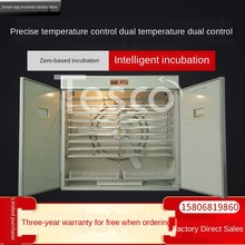 Customized Automatic Intelligent Egg Incubator Small, Medium and Large Chicken, Duck, Goose, Pigeon