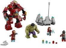 Decool Marvel Hulkbuster Super Heroes 7110 248pcs 76031 Avengers Building Blocks Bricks Toys For Children Gift стоимость