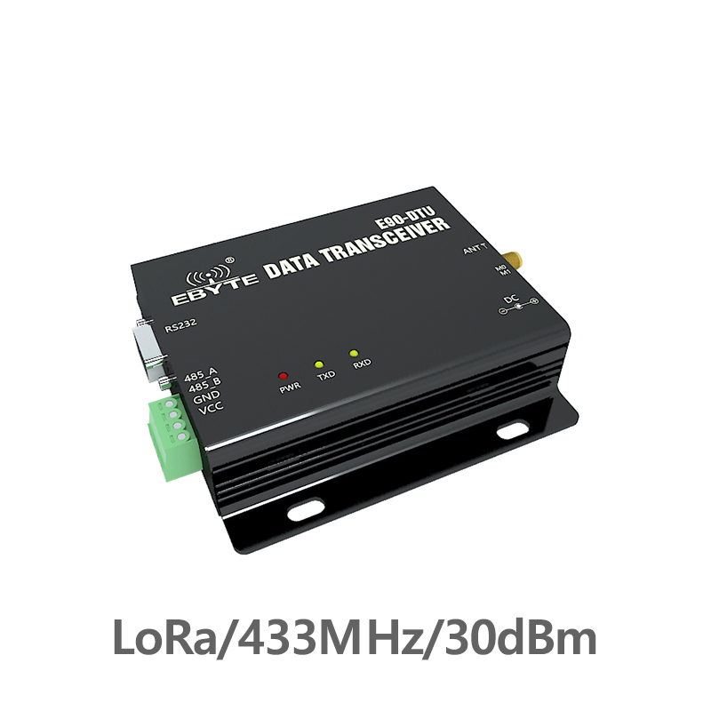 RS232 RS485 433MHz 1W TCXO E90-DTU-433C30 Wireless Transceiver Long Range 433 MHz Modbus Transceiver And Receiver Radio Modem