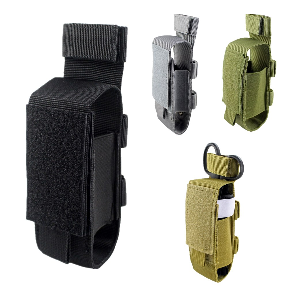 Tactical Tourniquet Shear Holster EDC Gear Holder Molle EMT Pouch Magazine Flashlight Multi-Tool General Purpose Pouch