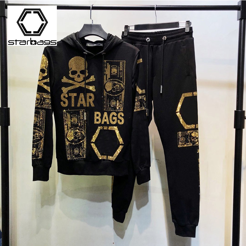 Starbags PP Sweater Jacket And Fleece 2019 New Fashion Cool Clothes With A Fall/winter Popular Logo Casual Suit