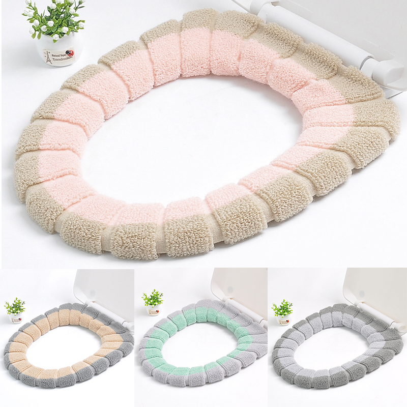 Universal Warm Soft Washable Toilet Seat Cover Mat for Home Decor Closestool Mat Seat Case Toilet Lid Cover Accessories(China)