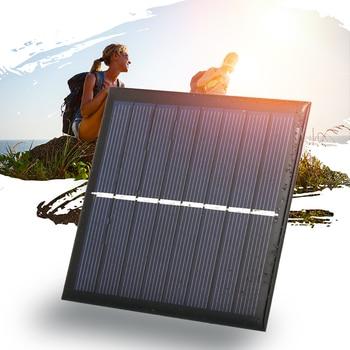 Νέος Έξυπνος Ηλιακός Φορτιστής Μπαταρίας 1W / 4V Για 1.2V AA Επαναφορτιζόμενες Μπαταρίες Power Banks Gadgets MSOW