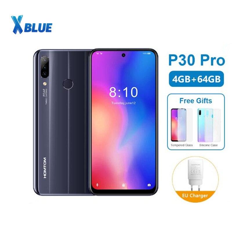 HOMTOM P30 pro смартфон на Android 6,41, восемь ядер, экран 9,0 дюйма, 4 Гб + 64 ГБ