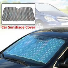 Car Sun Shade UV Protection Curtain Sunshade Film Windshield Visor Front Cover