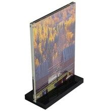 A4 210x297 мм акриловая магнитная вывеска стенд дисплей стенд плакат бумага фотобумага меню рекламный дисплей стенд