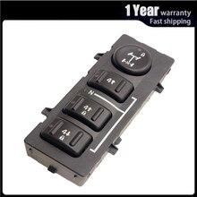 4WD 4X4ล้อTransfer Caseตัวเลือกปุ่มDashสำหรับHummer H2 2003 2007 19259310