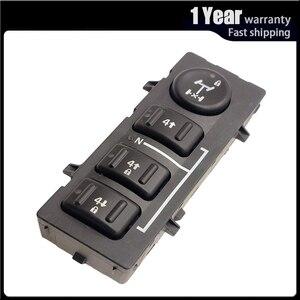 Image 1 - 4WD 4x4 גלגל העברת מקרה בורר כפתור מתג דאש עבור האמר H2 2003 2007 19259310