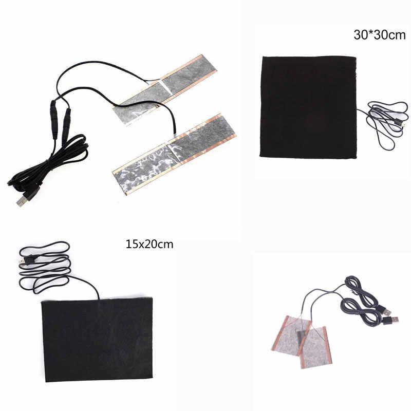 USB elektrikli ısıtmalı tabanlık ayak ısıtıcı bot ayakkabı ped kış açık kayak ısınma tabanlık su geçirmez ısıtma eldivenleri