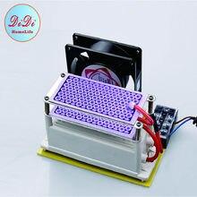 Generador de ozono de 220V para la UE, máquina ozonizadora O3 de 15G/20G, desodorizador, purificador de aire, integración, eliminación de olores