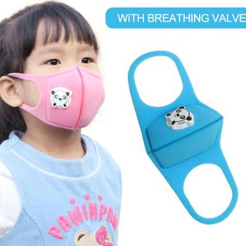 In Stock 5PCS Face Mouth Masks For Children Dust-proof Breathable Washable Earhook Masks With Valve Facial Mask Outdoor TSLM1 2