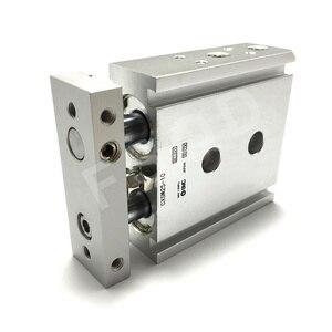 Image 4 - CXSM25 10,15,20,25 FSQD SMC Tipo di componente pneumatico A Doppio Stelo Cilindro di Base di aria strumenti di serie CXSM