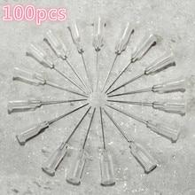 Plastic steel dispensing head, steel dispensing needle for dispensing controller 27G 100 pcs