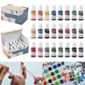 16/24Colors Pigment Set Resin Kit DIY Epoxy Resin Mold Pigment Dye Ink Color Essence Liquid Art Diffusion Resin Jewelry Making