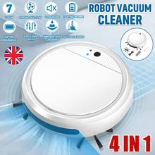 Piso inteligente robô aspirador de pó 1800pa forte sucção varredor usb recarregável seco molhado varrer esterilizador casa mais limpo