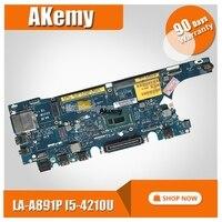 Zam60 LA A891P placa mãe do portátil para dell latitude e5250 teste original mainboard I5 4200U/4210u|Placas-mães| |  -