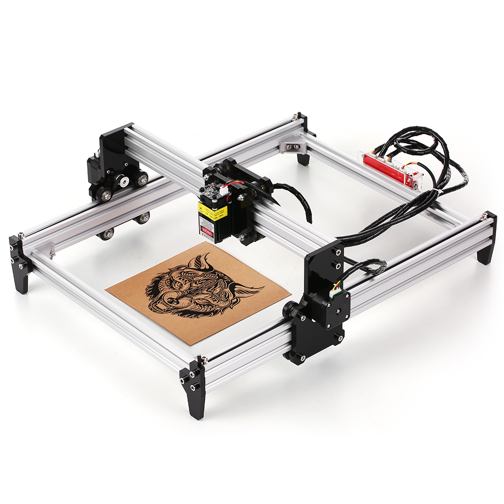 Desktop DIY Laser Engraving Machine CNC Machine Tool Laser Printer With Protective Glasses For Carving Cutting And Engraving