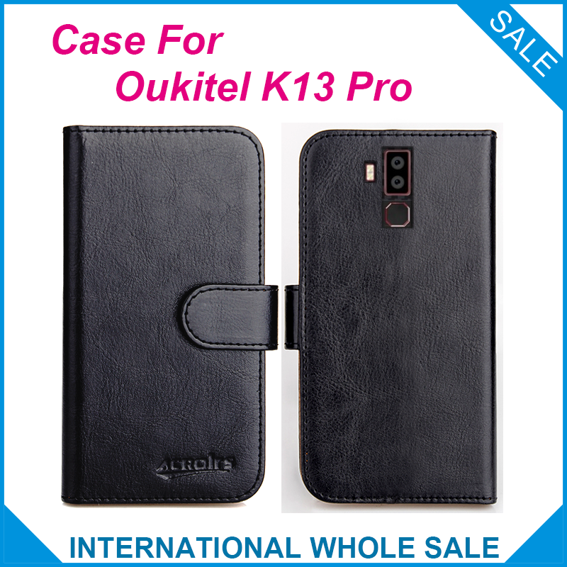 Original! <font><b>Case</b></font> <font><b>Oukitel</b></font> <font><b>K13</b></font> <font><b>Pro</b></font> <font><b>Case</b></font> 6 Colors Flip Leather Wallet <font><b>Cases</b></font> For <font><b>Oukitel</b></font> <font><b>K13</b></font> <font><b>Pro</b></font> Cover Slots Phone Bag image