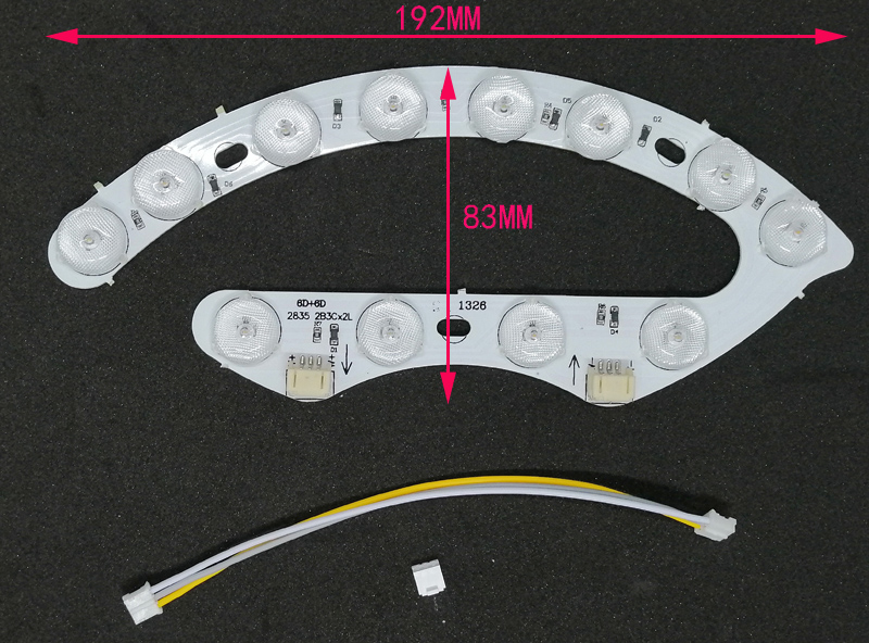 luz led substituível para a lâmpada do