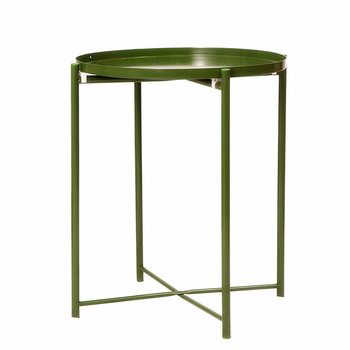 On The Side of A Few Small Round Tables, Tea Tables, Iron Art, Home Stay Tables, Round Tables, Tea Tables, ins, Simple Tray