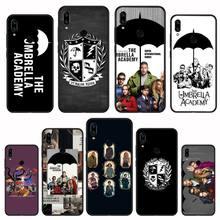 New TV The Umbrella Academy Soft black Phone Case For