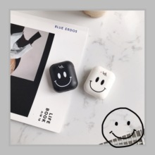 smile Silicone Bluetooth Wireless Earphone Case For AirPods Protective Cover for Apple Airpods Charging Box Skin Accessories