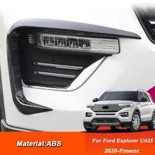 Для ford explorer u625 2020 автомобильный Стайлинг abs передний