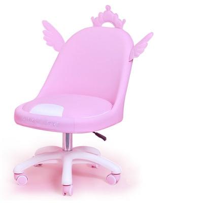 Modern Minimalist Lightweight Dormitory Small Apartment Computer Chair Home Children Cute Student Writing Lift Back Chair