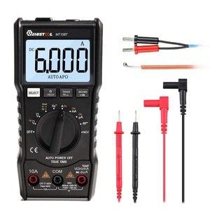 Image 5 - MUSTOOL MT108T cyfrowy multimetr 6000 liczy True RMS NCV urządzenie do pomiaru temperatury prostokątna fala wyjście podświetlenie miernik elektroniczny