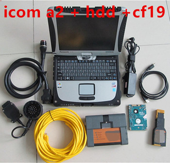 for BMW ICOM A2 With V2019.12 Engineers software hdd in cf-19 Laptop Preinstalled Ready to Use
