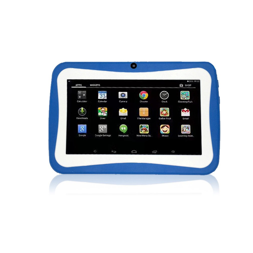 Puppy 7 Inch Android 4.4 Quad Core Kids Tablet Pc 512Mb+4Gb/8Gb Professional Learning Education Tablet Computer Children Gift