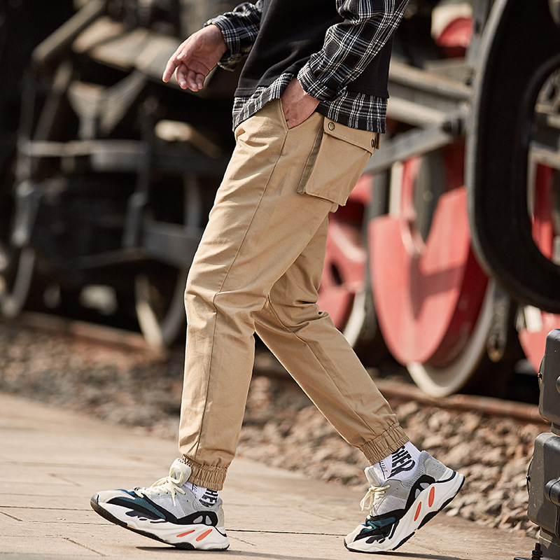 High Quality Pants Men Fashion Casual Streetwear Overalls Hip Hop Joggers Harem Pants