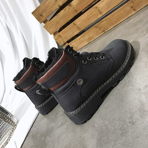 Image 5 - SWYIVY Winter Boots Women Shoes Round Toe Fashion 2019 Warm Solid Short Ankle Boots For Women Short Plush Snow Booties Cross Tie