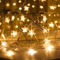 クリスマスの装飾屋外クリスマスライトledストリングライト6メートル3メートル1メートルルクスdecoracion妖精ライトホリデー照明新年花輪